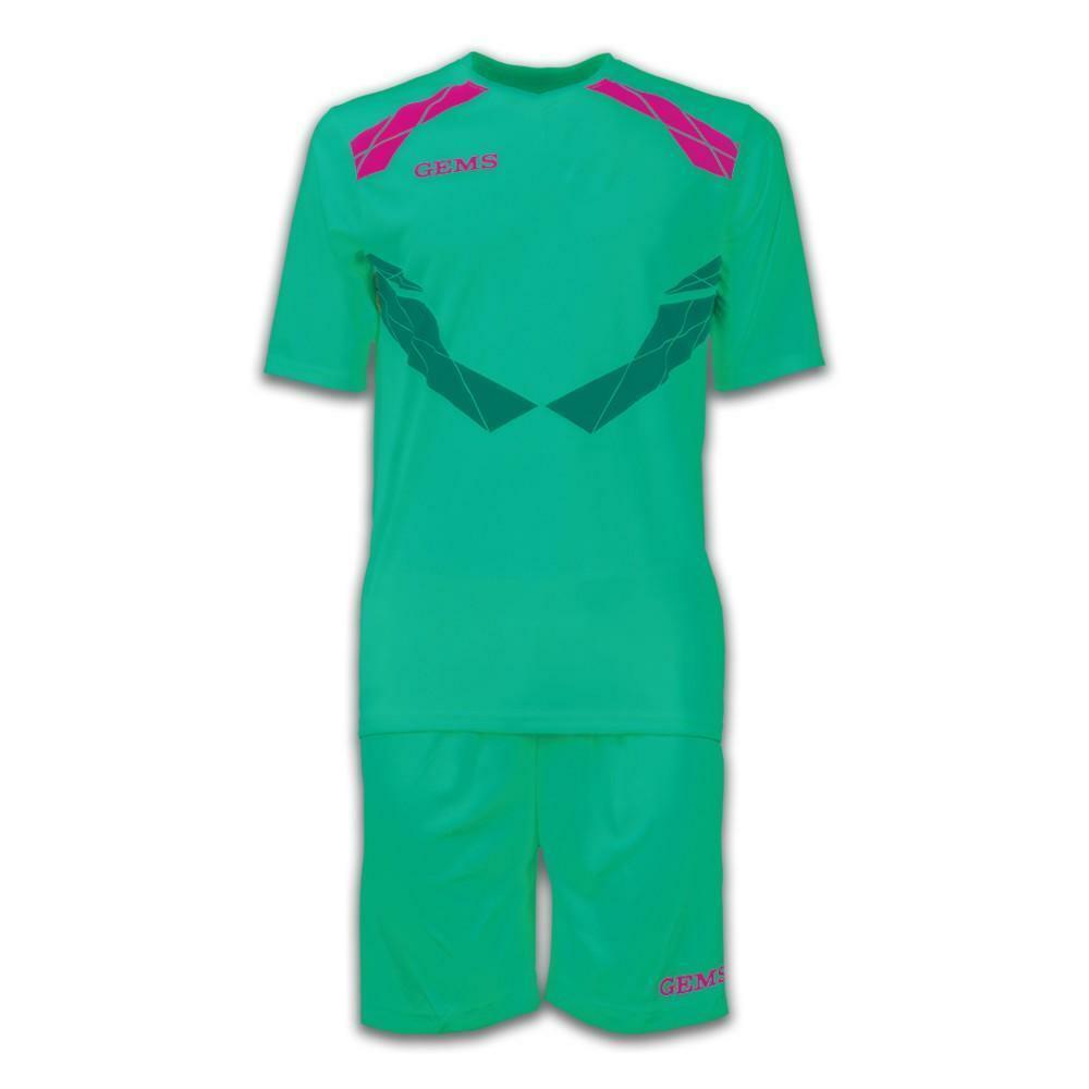 gems gems kit calcio raptor verde/fucsia