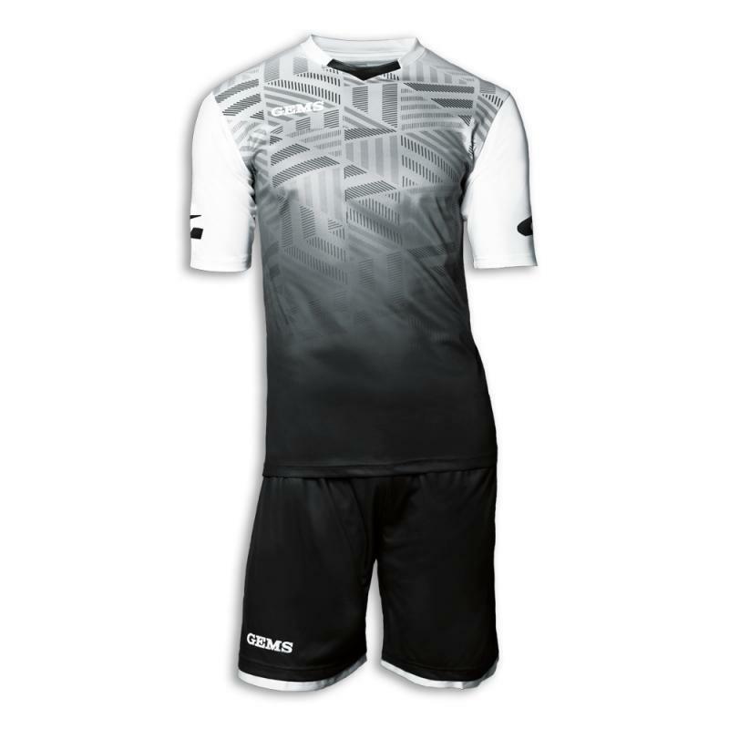 gems gems kit calcio portland nero/bianco