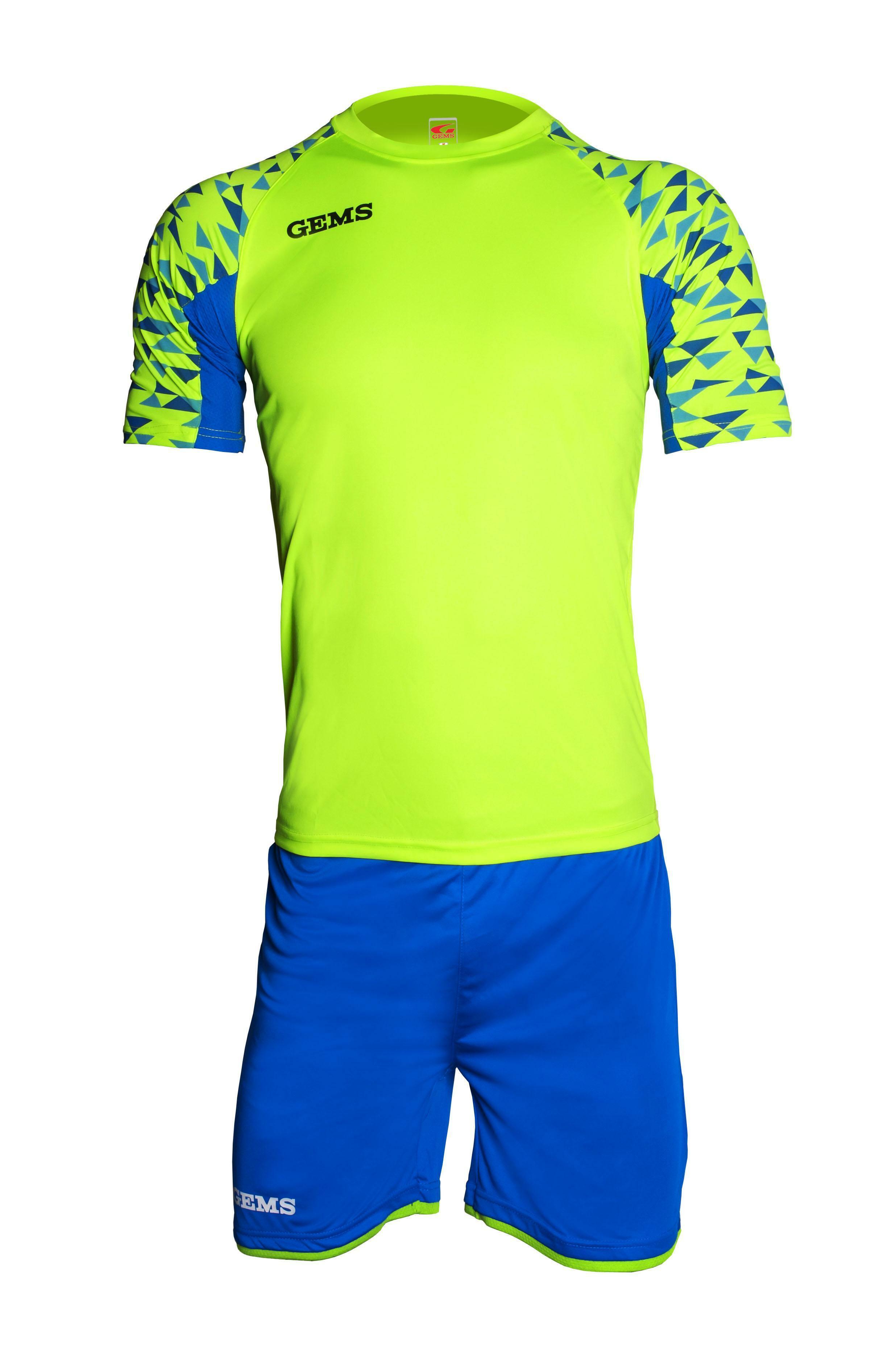 gems gems kit calcio west ham giallo fluo / azzurro