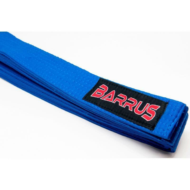 elefantino barrus cintura karate cotone blu