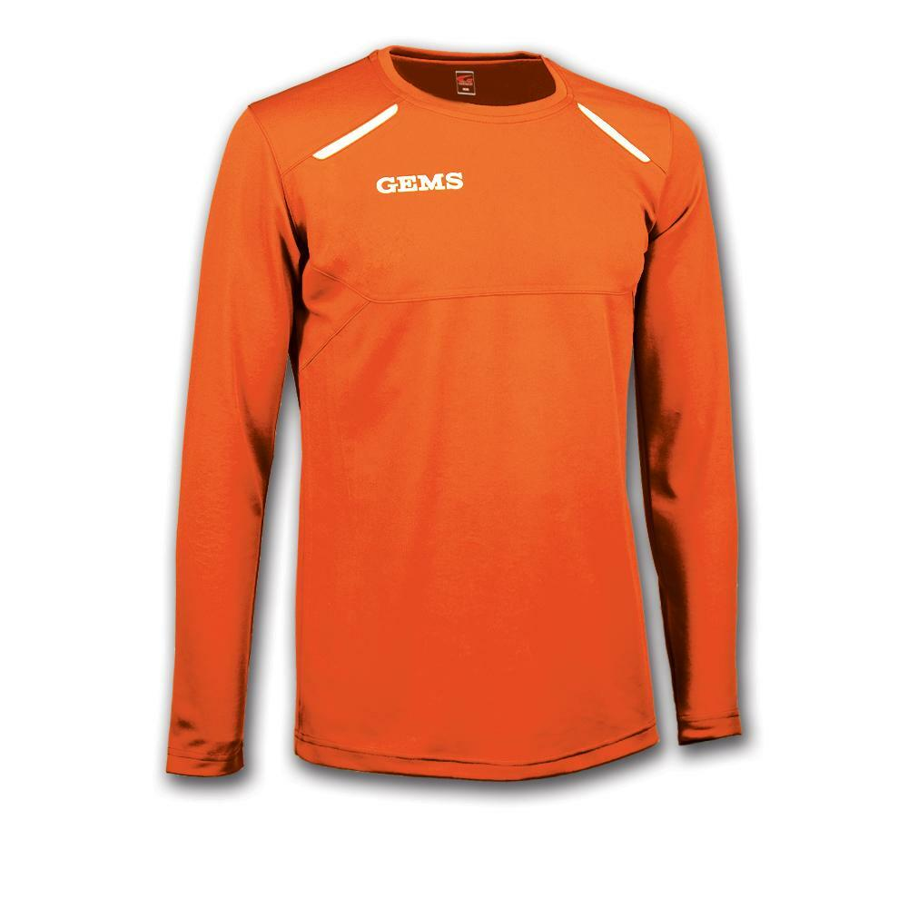 gems gems maglia sportiva nord carolina arancio