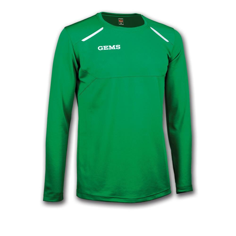gems gems maglia sportiva nord carolina verde