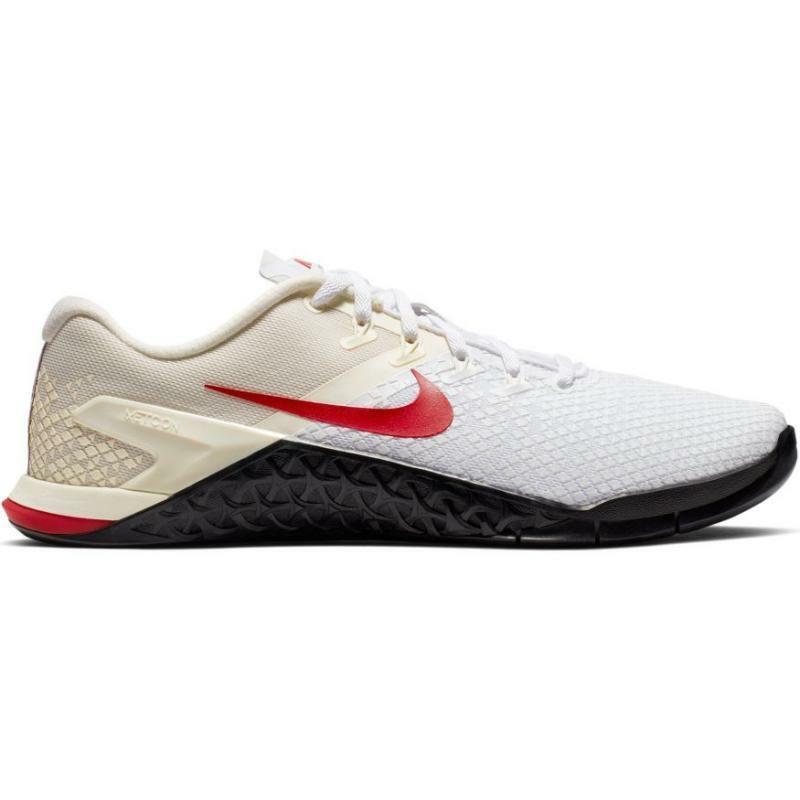 nike nike scarpa crossfit metcon 4 xd bianco/rosso