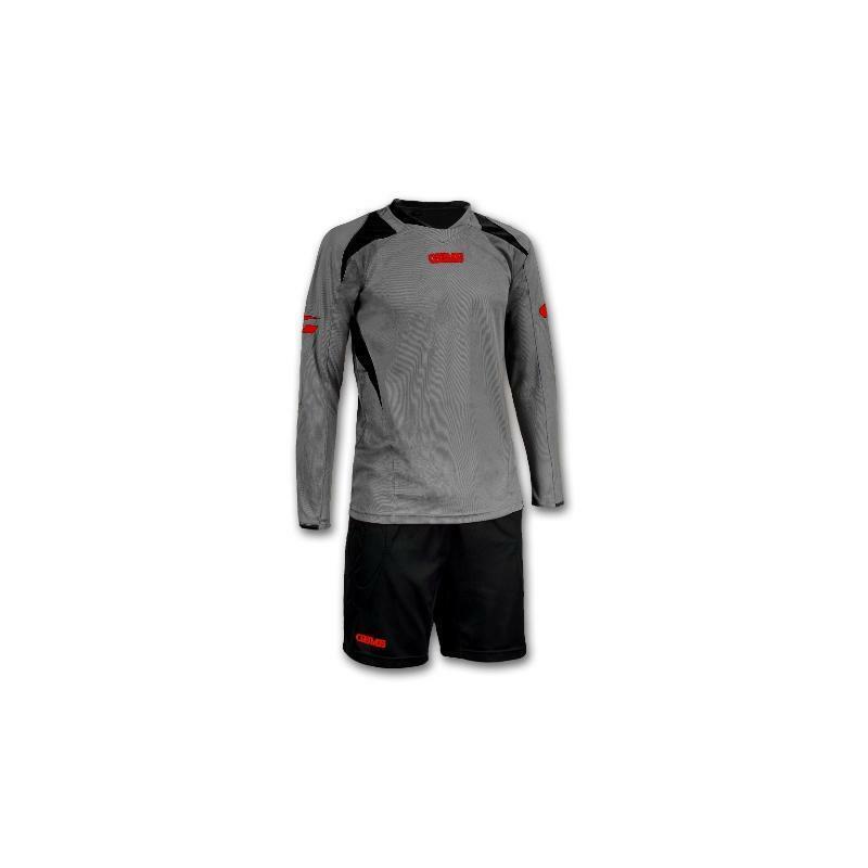 gems gems kit portiere calcio nevada grigio/nero