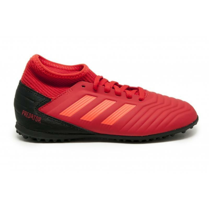 adidas scarpa predator 19.3 tf bambino cm8547 rosso