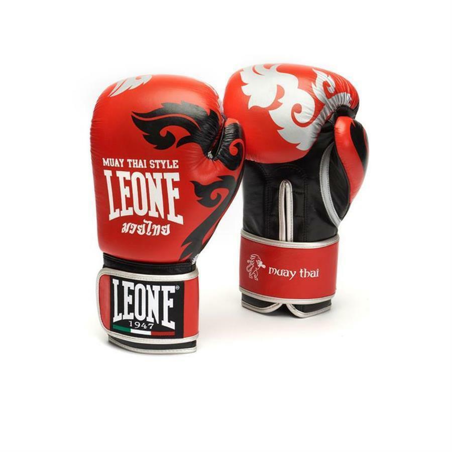 leone leone guantoni muay thai 10oz rosso