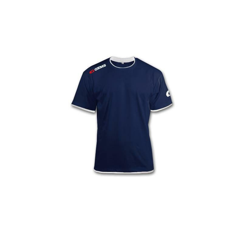 gems gems t-shirt egitto blu