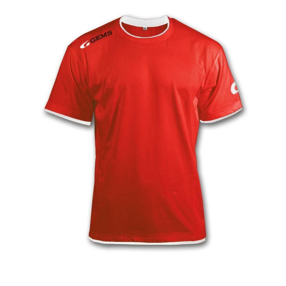 gems gems t-shirt egitto rosso