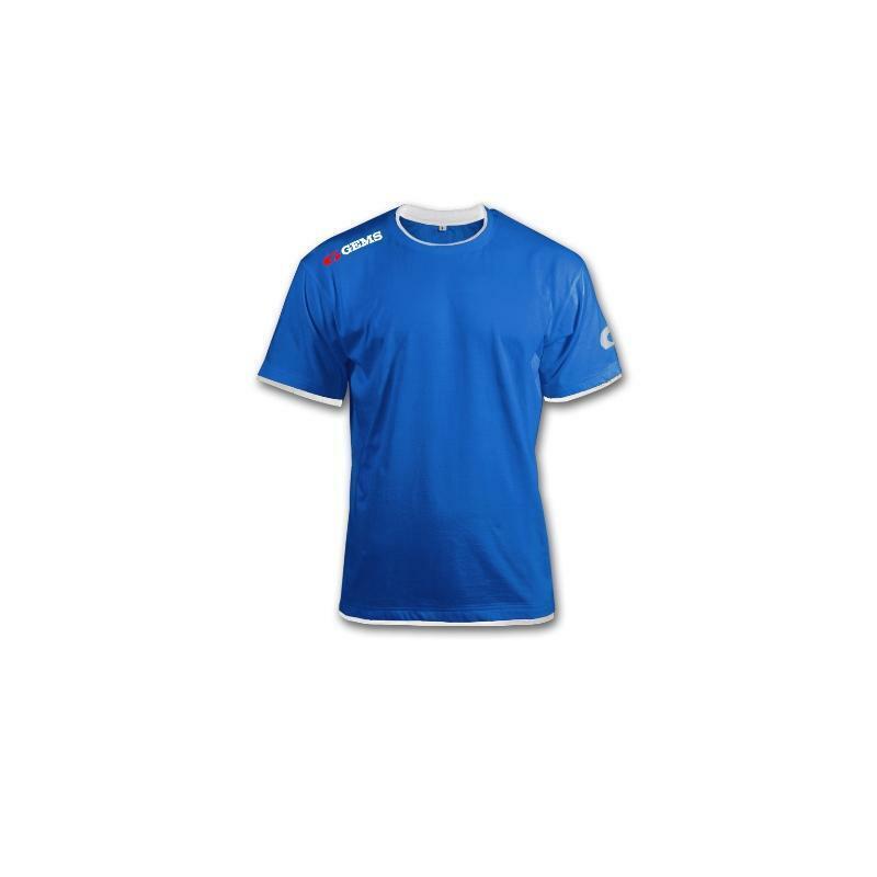 gems gems t-shirt egitto azzurro