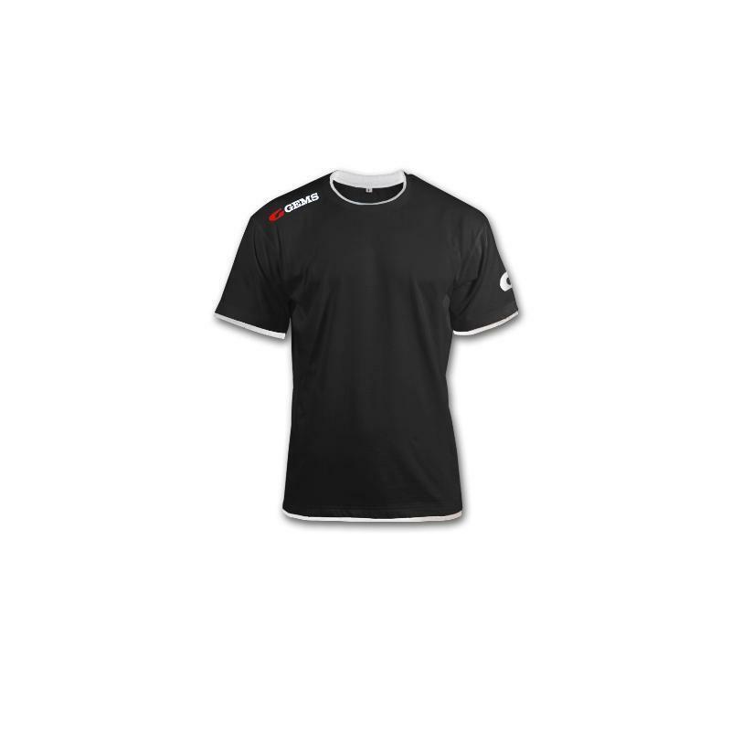 gems gems t-shirt egitto nero