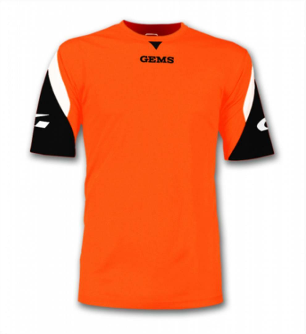 gems gems maglia sportiva boston arancio fluo