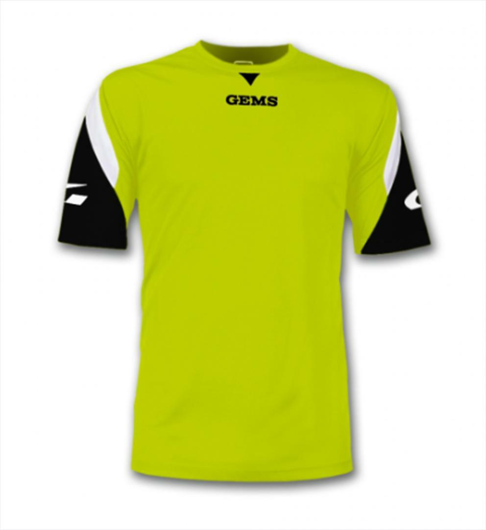 gems gems maglia sportiva boston giallo fluo