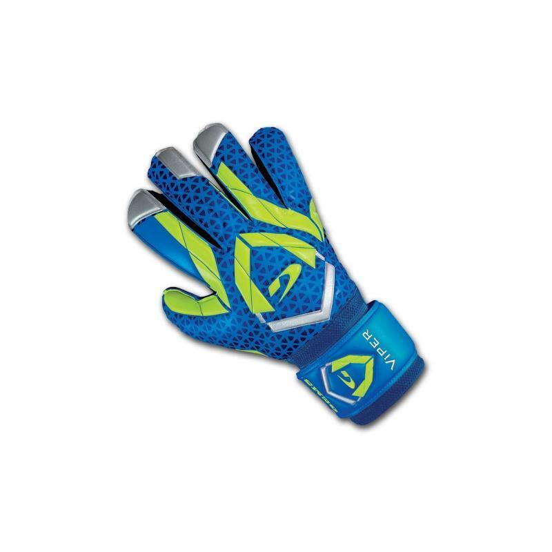 gems gems guanti portiere viper azzurro/giallo