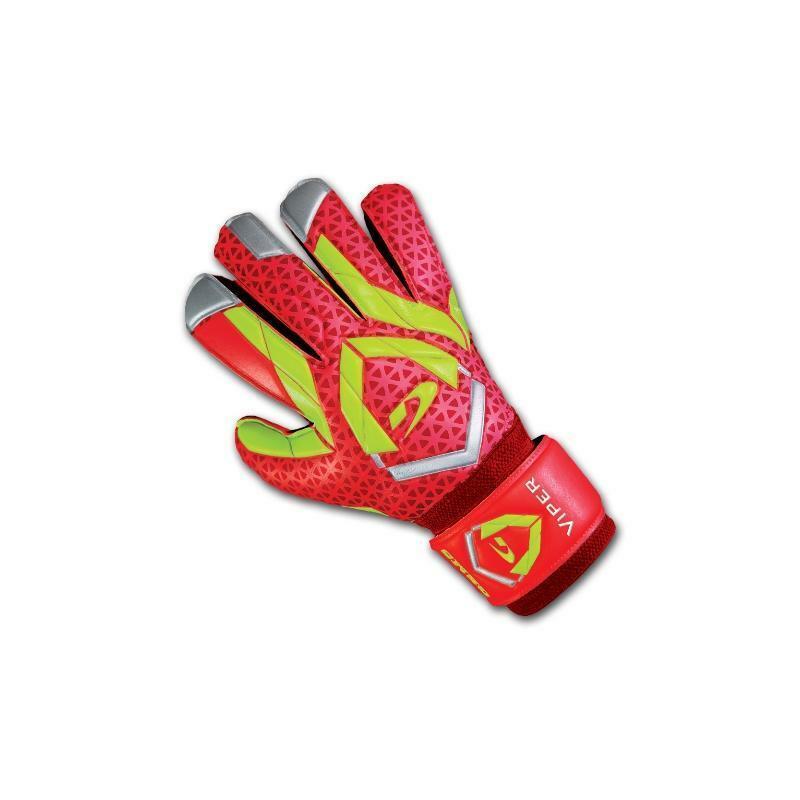 gems gems guanti portiere viper rosso/giallo