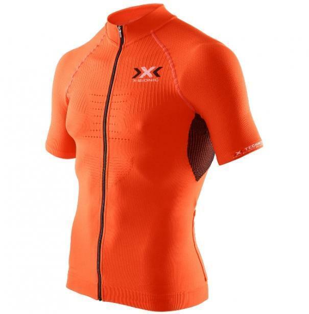 x-bionic x-bionic maglia the trick arancio