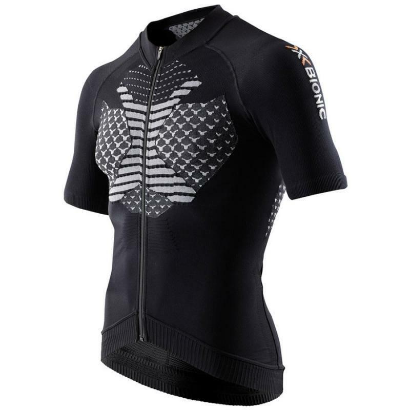 x-bionic x-bionic maglia twyce biking nero
