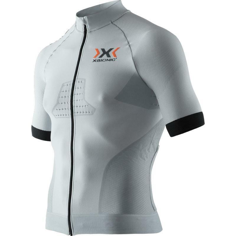x-bionic x-bionic maglia race evo grigio