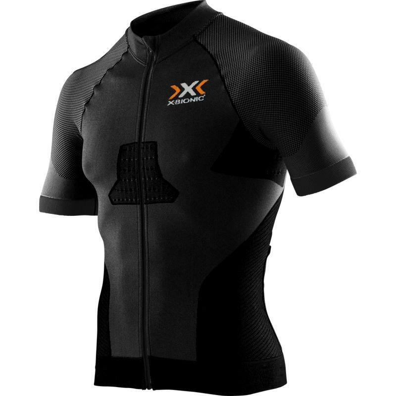 x-bionic x-bionic maglia race evo nero