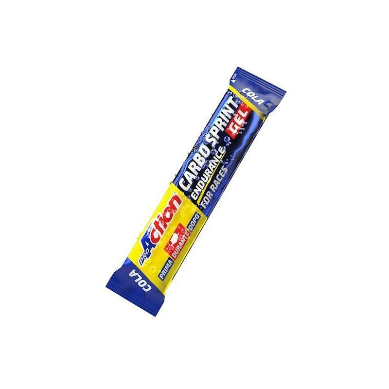 pro action proaction integratore carbo sprint gel cola