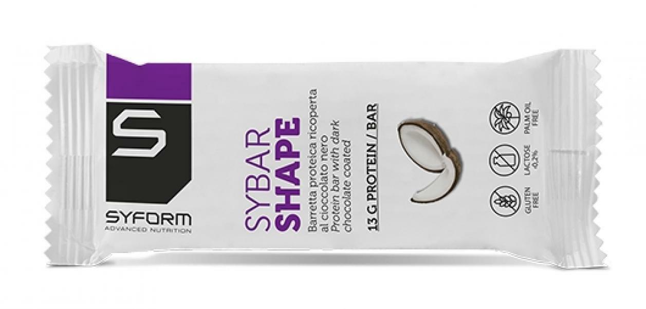 syform syform barretta proteica sybar shape cocco 50 g