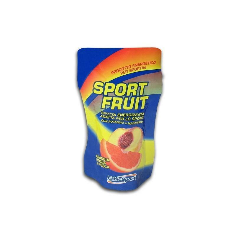 ethic sport ethicsport frutta gel sport fruit arancia-pesca
