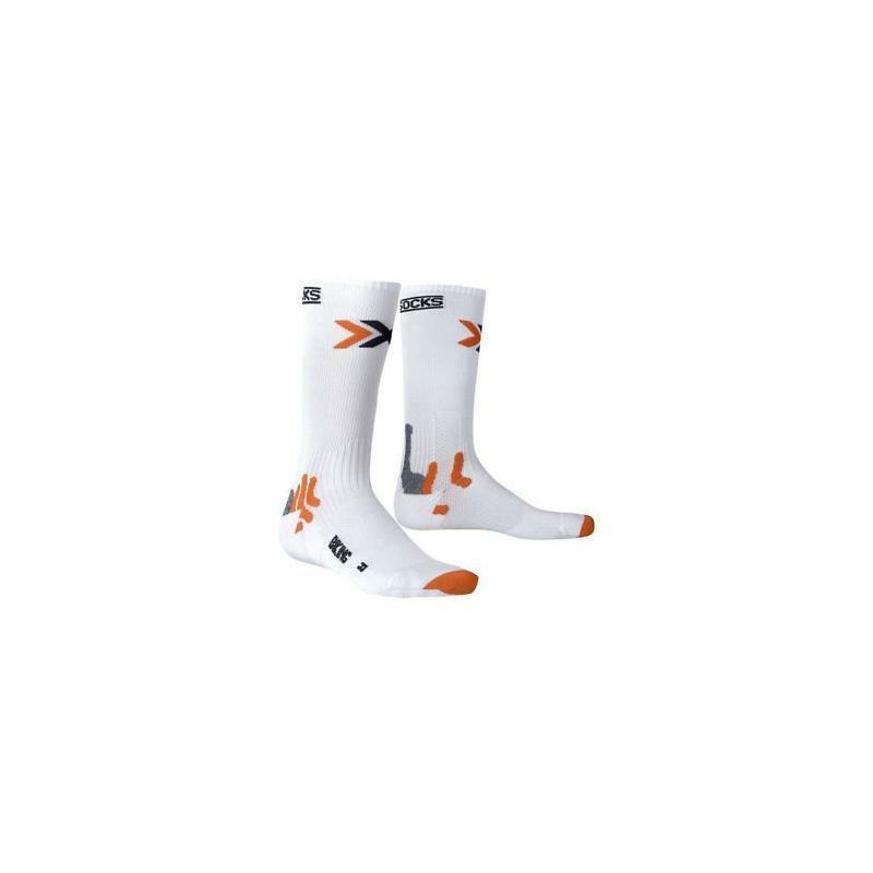 x-bionic x-bionic calza bike energizer bianco