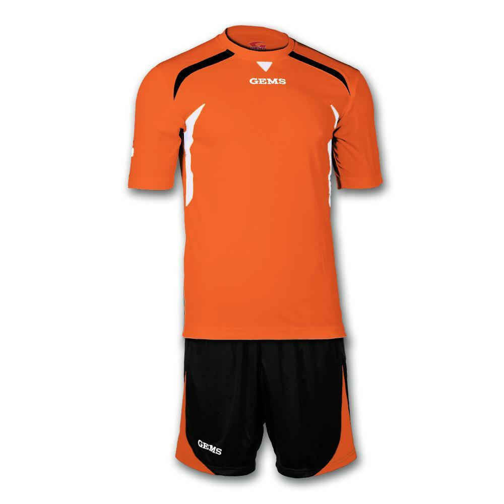 gems gems kit calcio chicago arancio/nero
