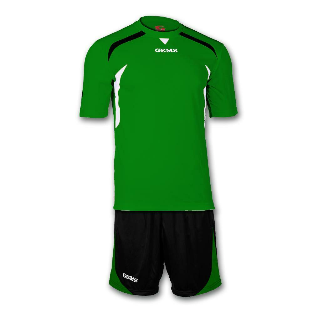 gems gems kit calcio chicago verde/nero