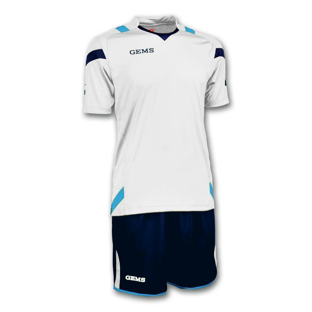 gems gems kit calcio philadelphia bianco/celeste