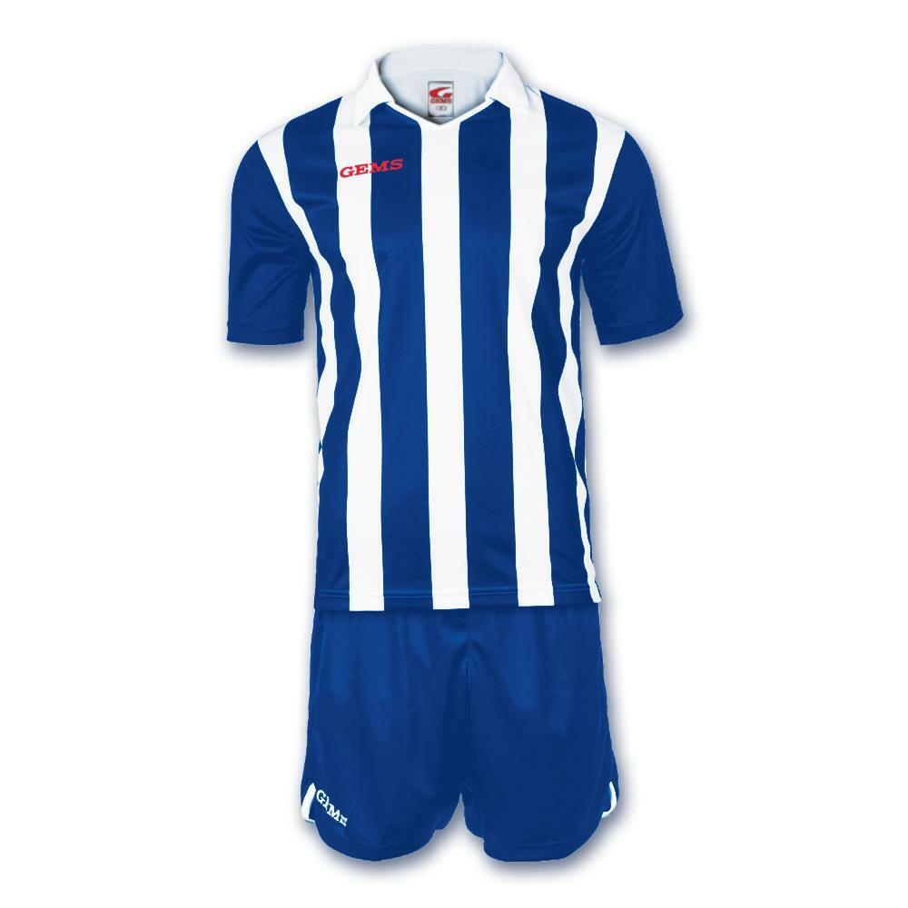 gems gems kit calcio detroit bianco/azzurro