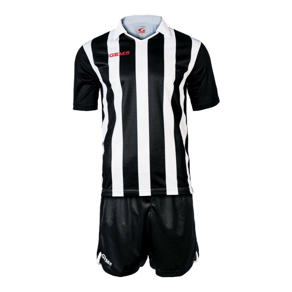 gems gems kit calcio detroit bianco/nero