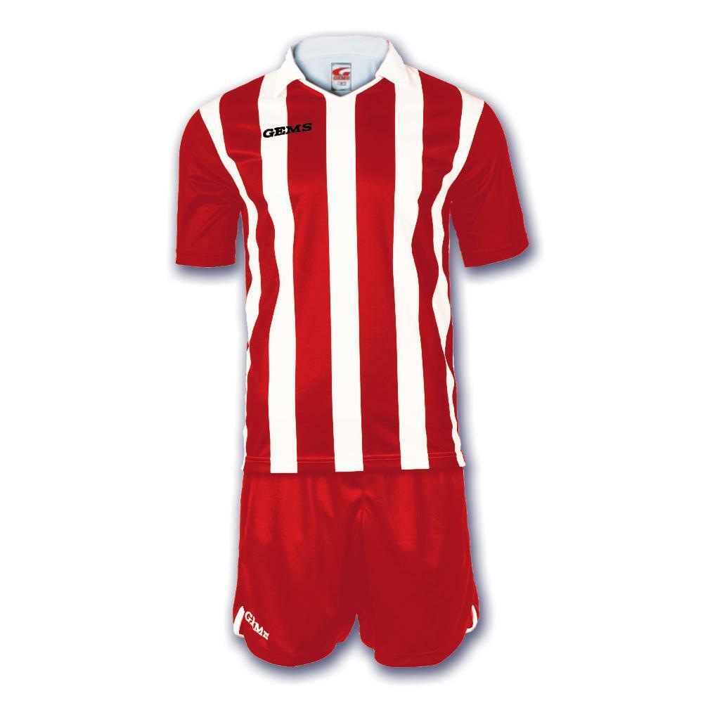 gems gems kit calcio detroit bianco/rosso