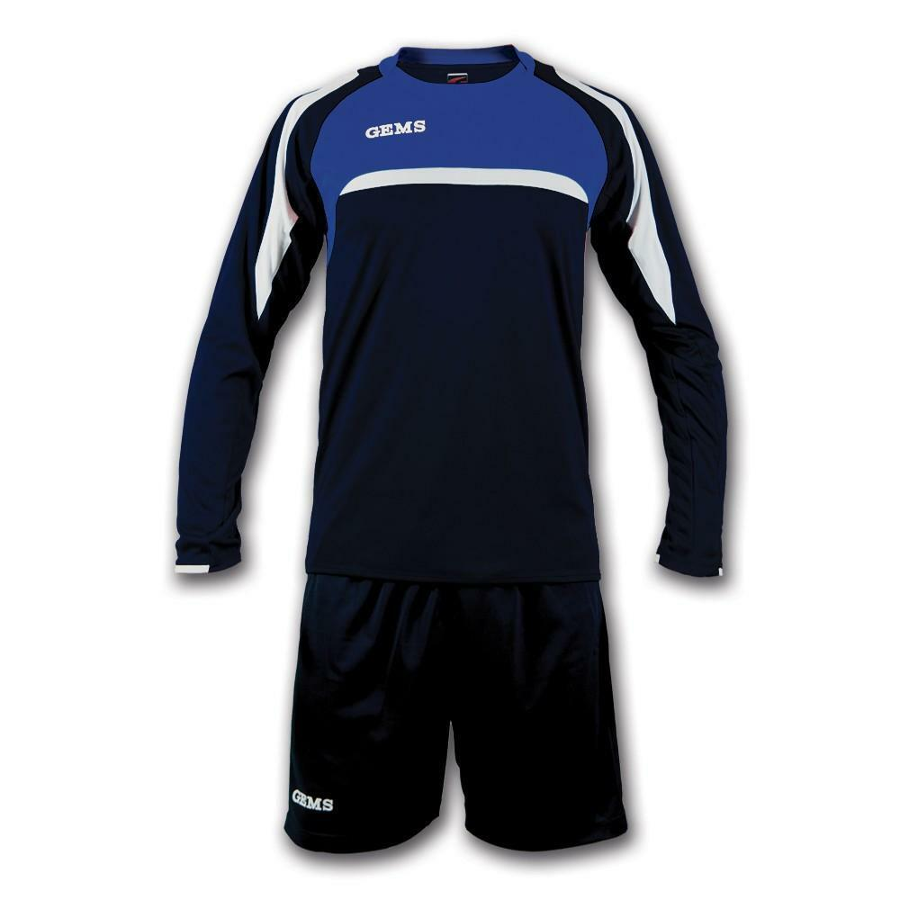 gems gems kit calcio vermont blu/azzurro
