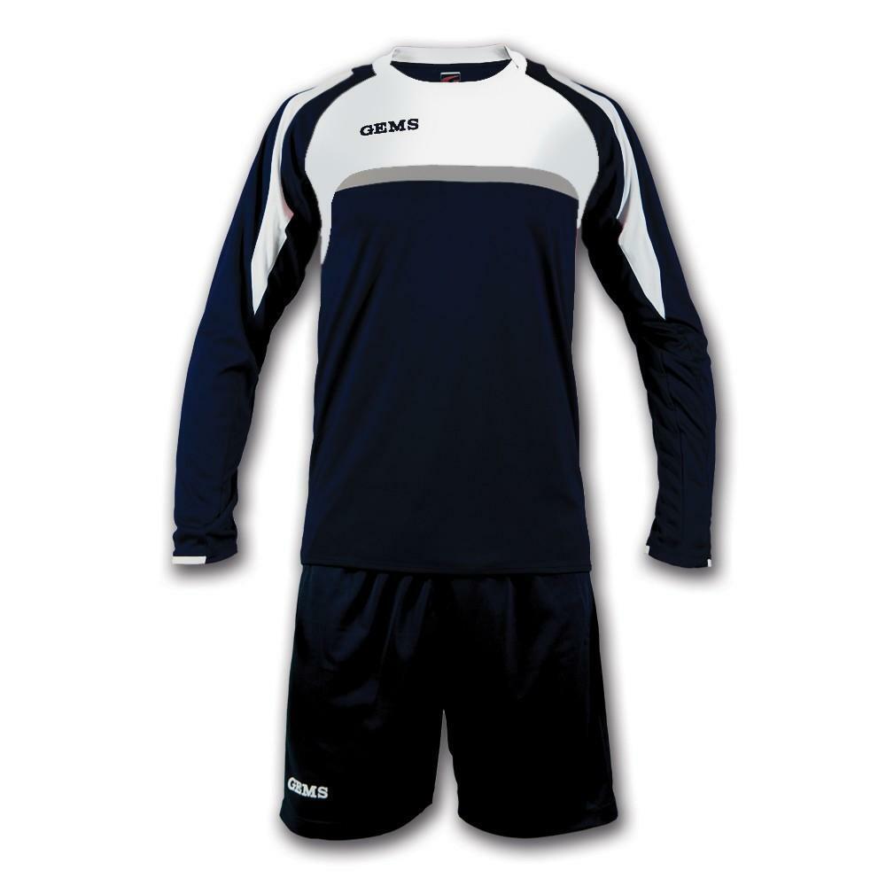 gems gems kit calcio vermont blu/bianco