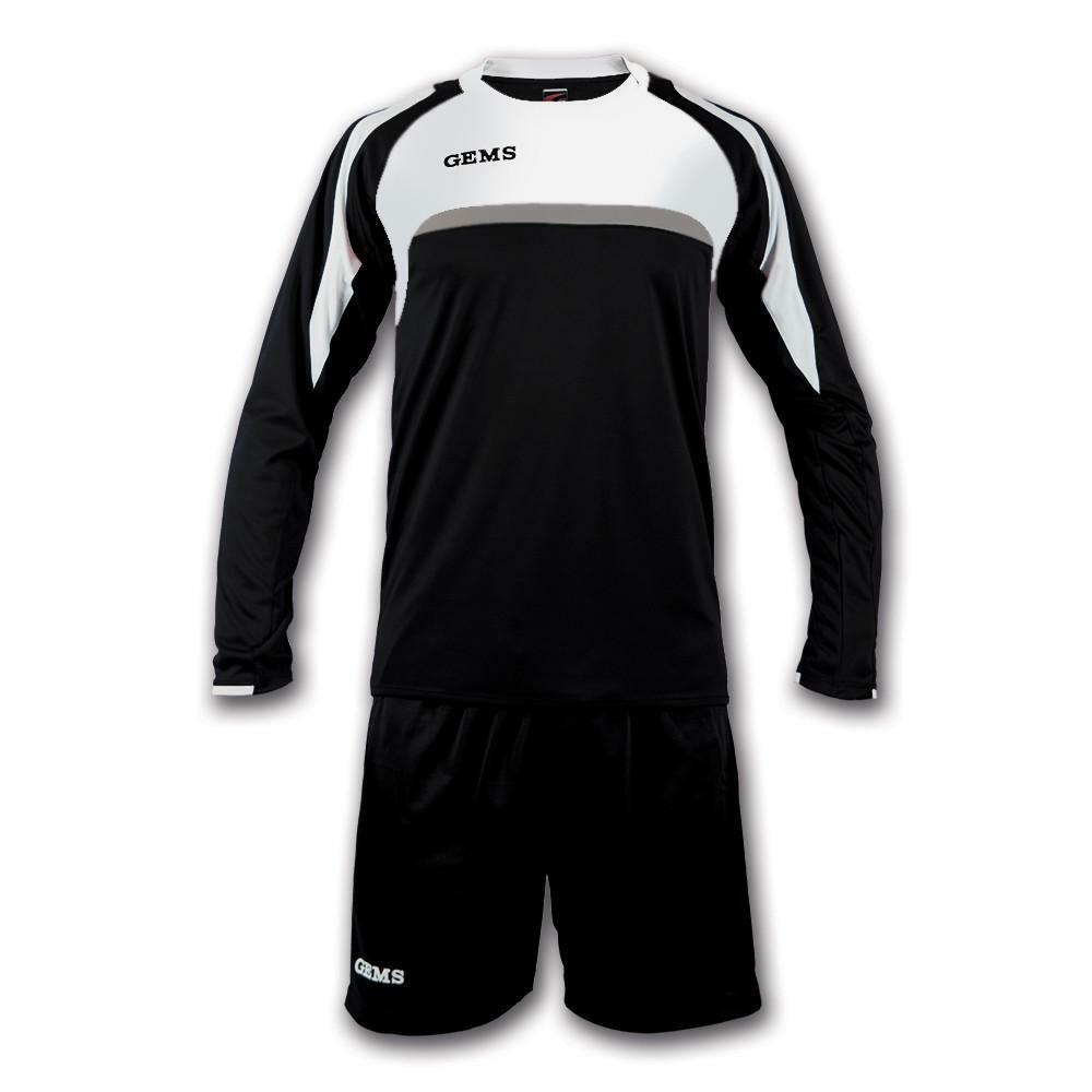 gems gems kit calcio vermont nero/bianco