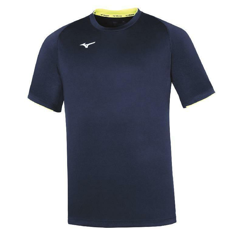 mizuno mizuno t-shirt core blu