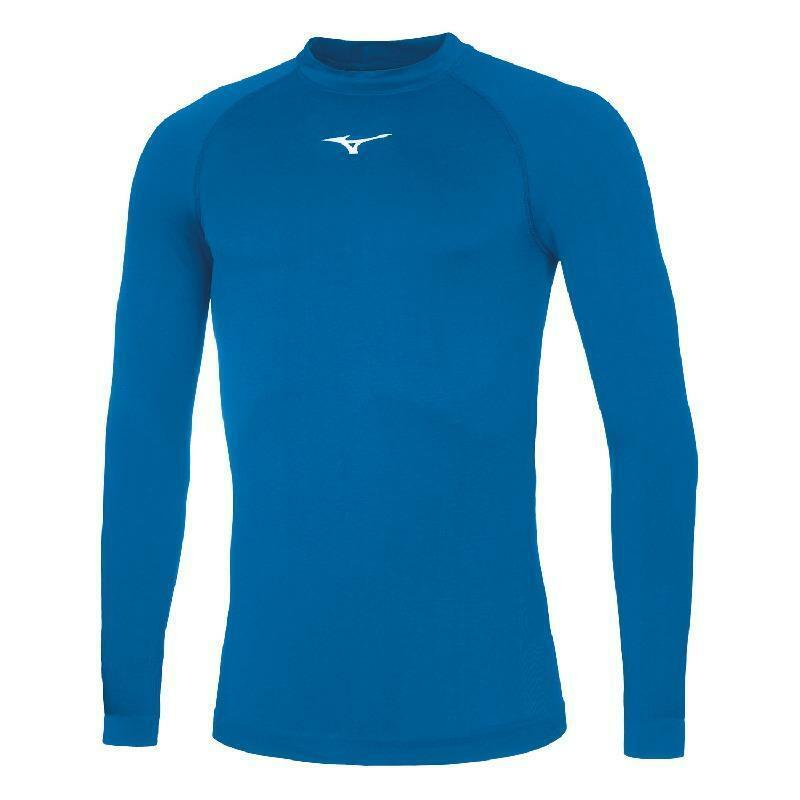 mizuno mizuno maglia termica core - azzurro