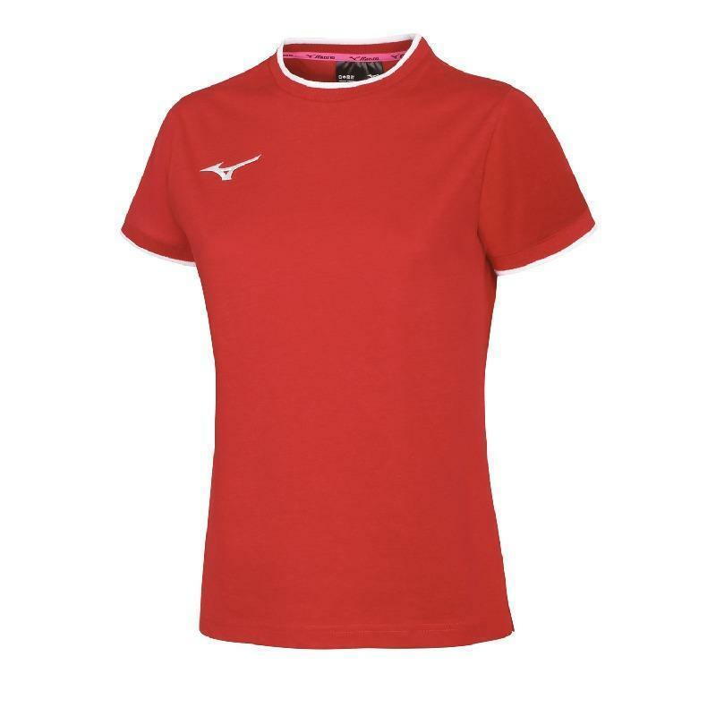 mizuno mizuno maglia donna team rosso