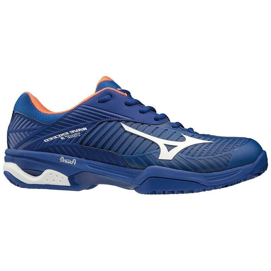 mizuno mizuno scarpa tennis wave exceed tour cc blu