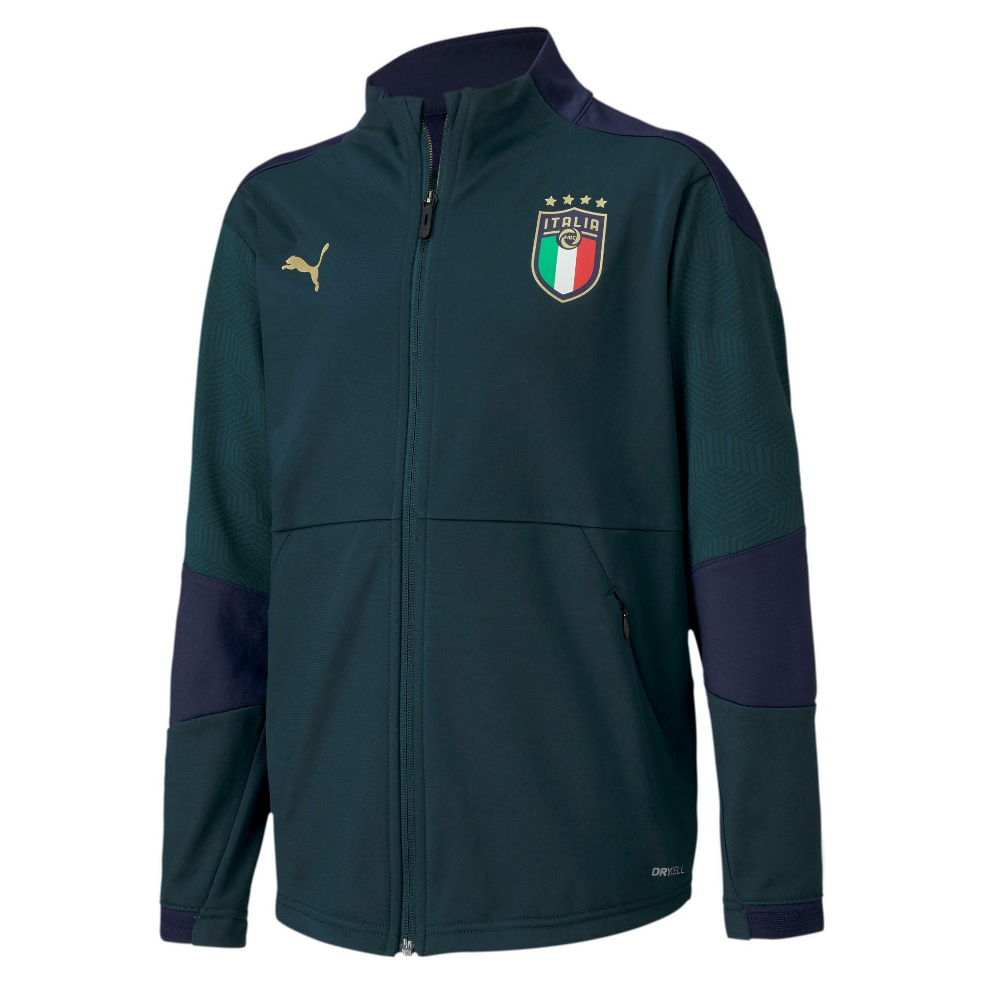 puma puma italia nazionale figc giacca bambino 1920
