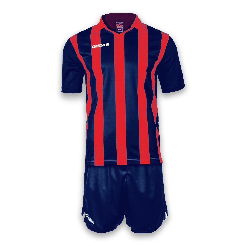 gems gems kit calcio detroit rosso/blu