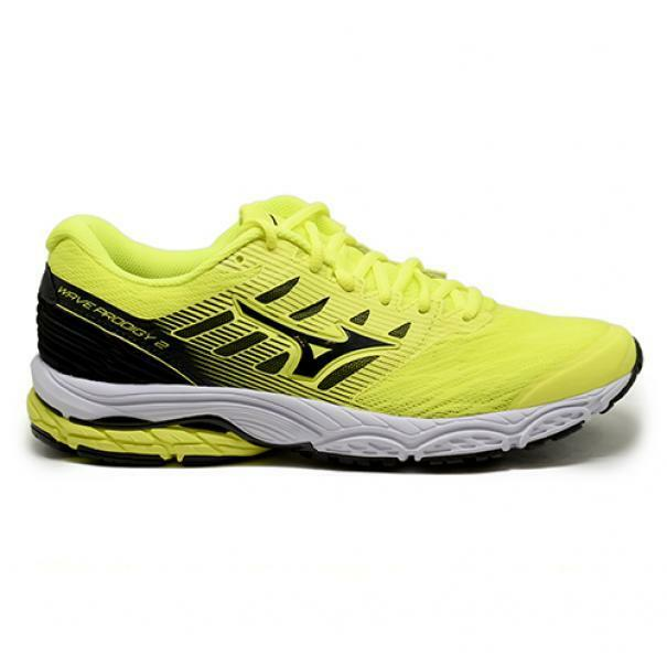 mizuno mizuno scarpa running wave prodigy 2 giallo