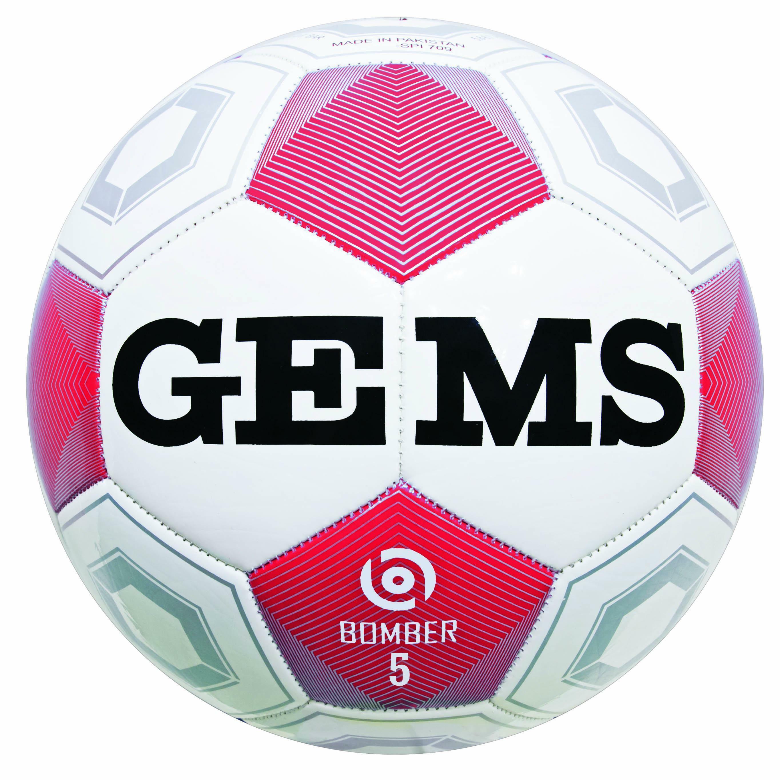 gems gems pallone bomber rosso