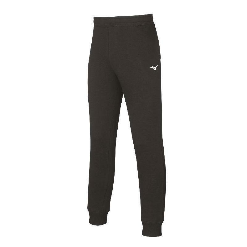 mizuno mizuno pantalone felpato sweat nero