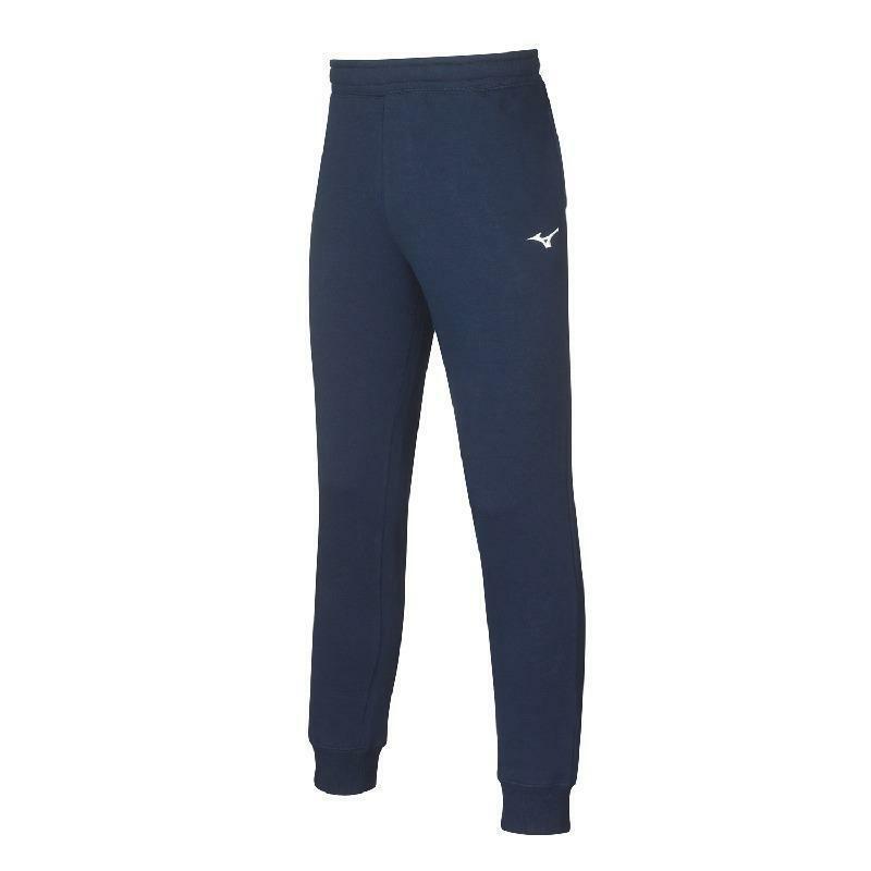 mizuno mizuno pantalone felpato sweat blu