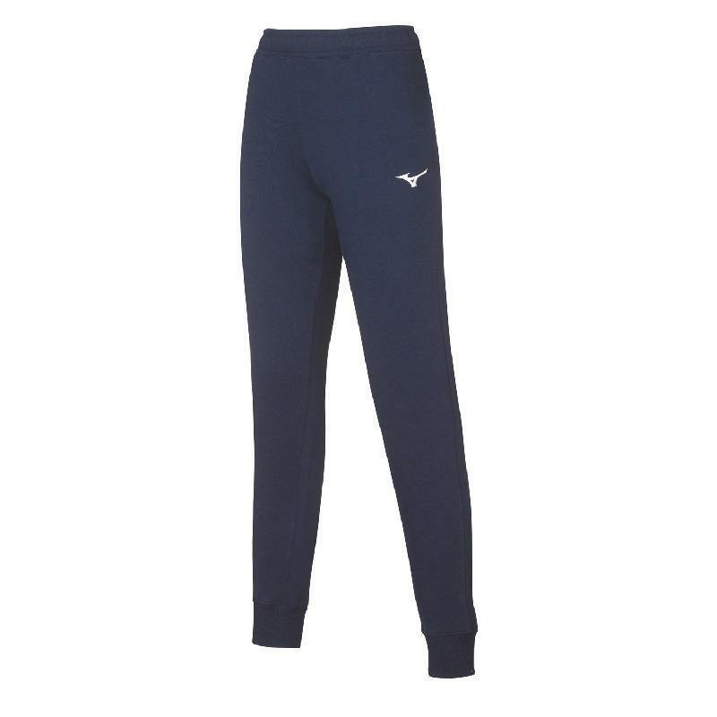 mizuno mizuno pantalone felpato donna sweat blu