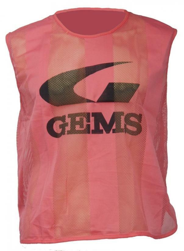 gems gems casacca riga fluo rosa