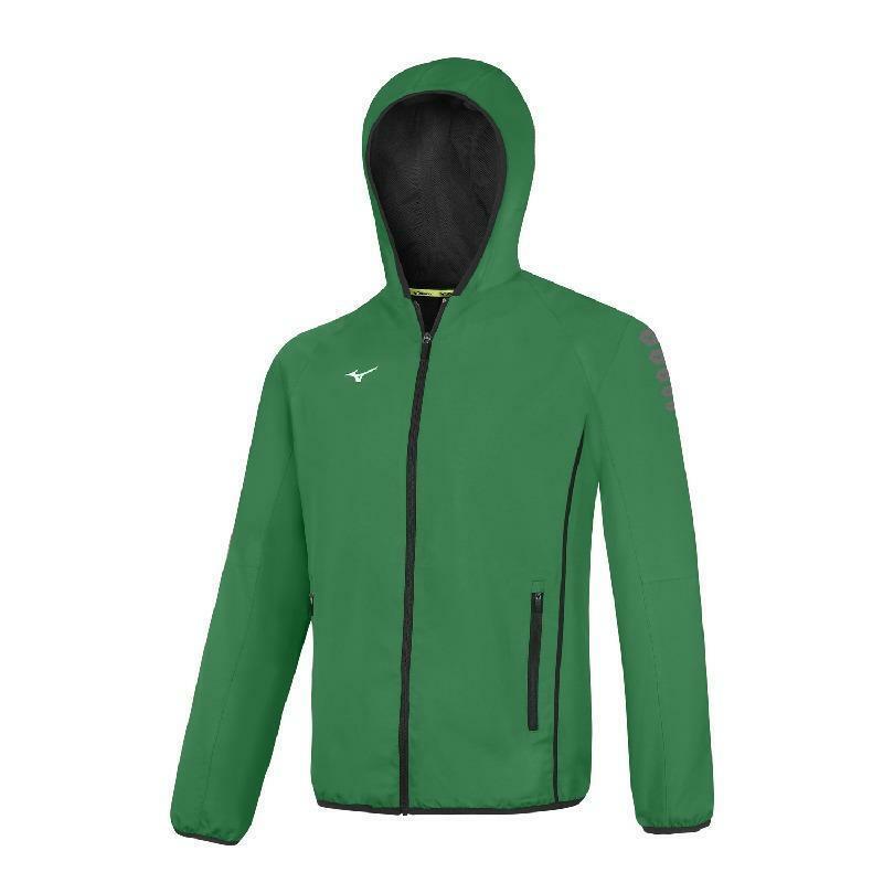 mizuno mizuno giacca tuta nagasaki verde