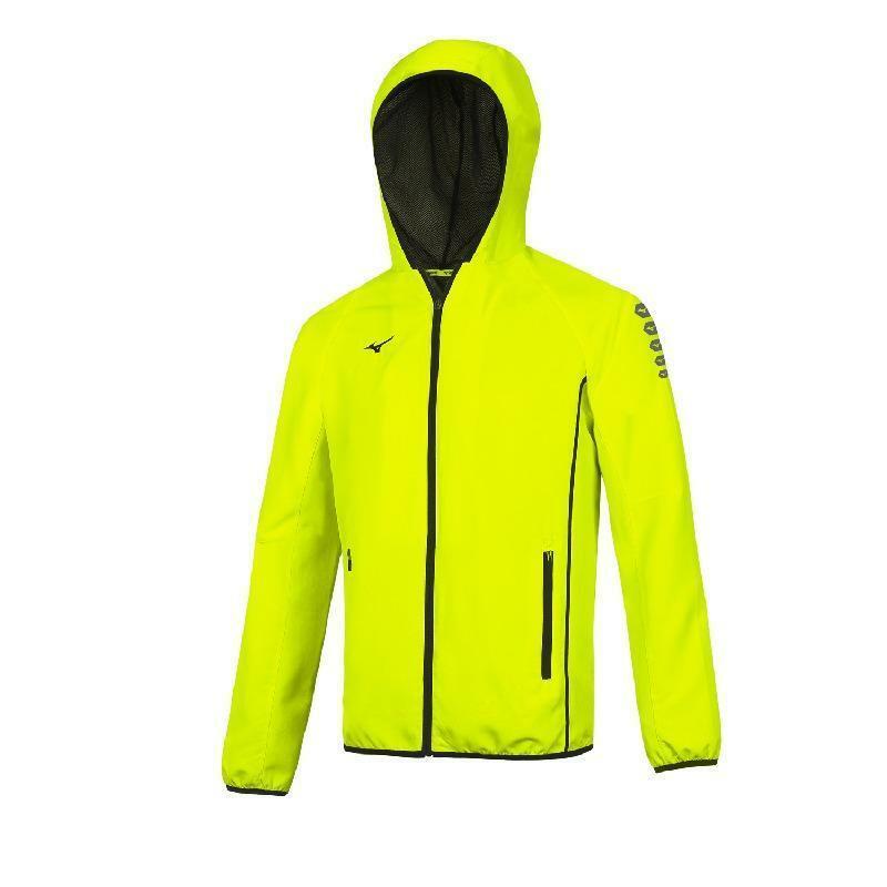 mizuno mizuno giacca tuta nagasaki giallo fluo