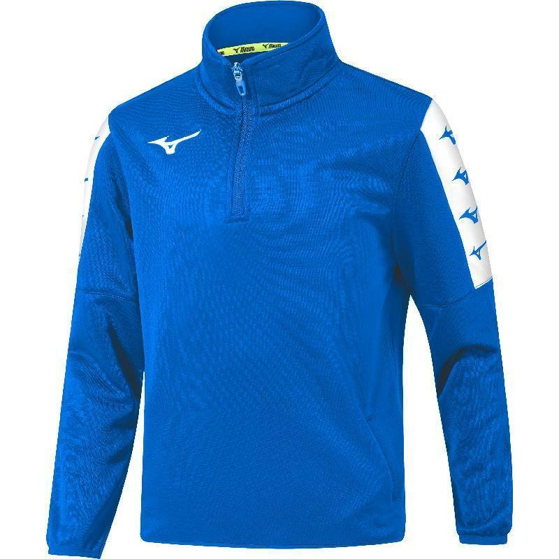 mizuno mizuno felpa allenamento nara training top azzurro
